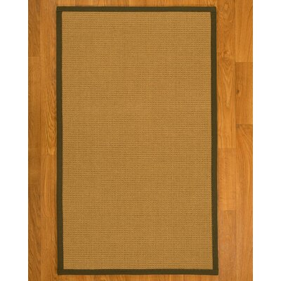 Coleridge Sisal Malt Area Rug Rug Size: 3 X 5