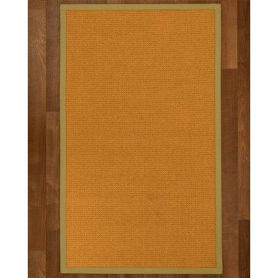 Bullen Sisal Khaki Area Rug Rug Size: 2 X 3