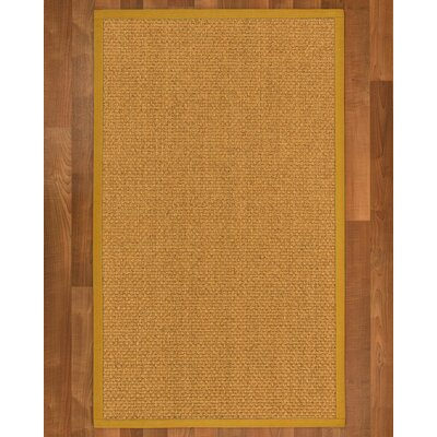Andlau Hand-Woven Tan Area Rug Rug Size: Rectangle 5 X 8
