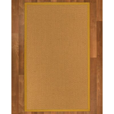 Shauntel Hand Woven Yellow Area Rug	 Rug Size: Rectangle 2 X 3