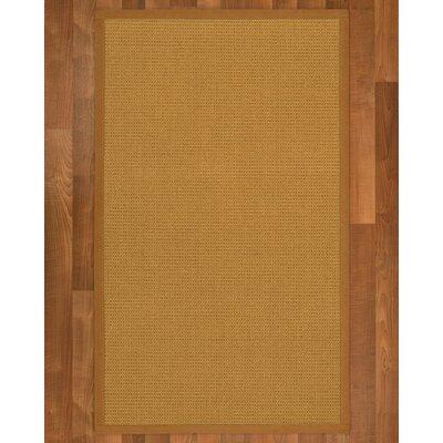 Coleridge Sisal Sienna Area Rug Rug Size: 4 X 6