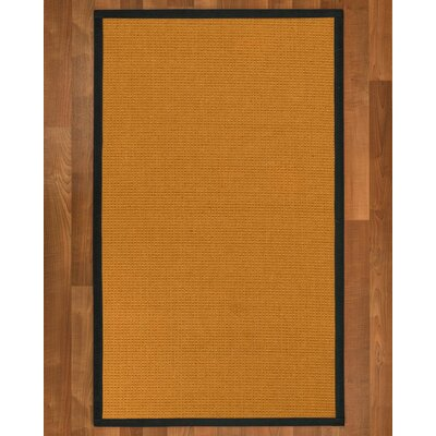 Bullen Hand Woven Brown Area Rug Rug Size: Rectangle 2 X 3