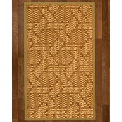 Aalin Hand-Woven Beige Area Rug Rug Size: Rectangle 5 X 8