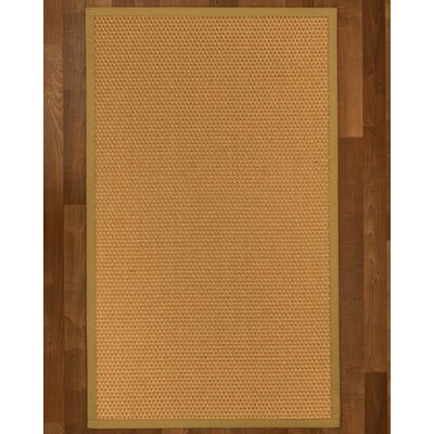 Shauntel Sisal Sage Area Rug Rug Size: Rectangle 4 X 6