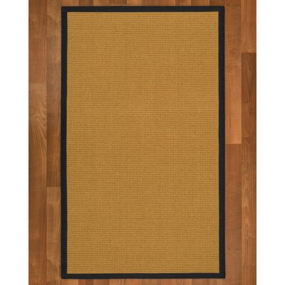 Coleridge Sisal Midnight Blue Area Rug Rug Size: 5 X 8