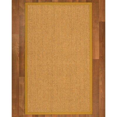Healey Sisal Tan Area Rug Rug Size: 3 X 5