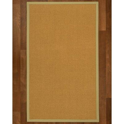 Coleridge Sisal Sand Area Rug Rug Size: 5 X 8