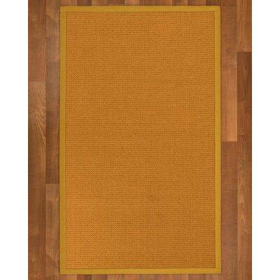 Bullen Sisal Tan Area Rug Rug Size: 4 X 6