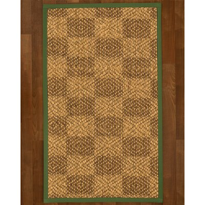 Hearne Sisal Green Area Rug Rug Size: 4 X 6