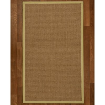 Jamesville Hand Woven Brown Area Rug Rug Size: Rectangle 5 X 8