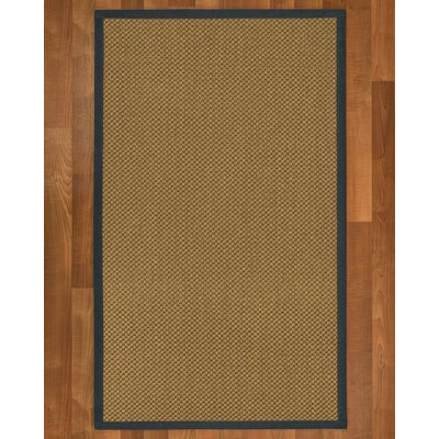 Loehr Hand Woven Brown Area Rug Rug Size: Rectangle 4' X 6'