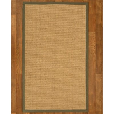 Lanie Hand-Woven Beige Area Rug Rug Size: Rectangle 4 X 6