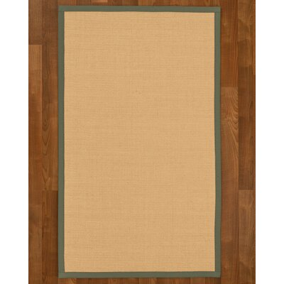 Rupendra Hand Woven Beige Area Rug Rug Size: Rectangle 6 X 9