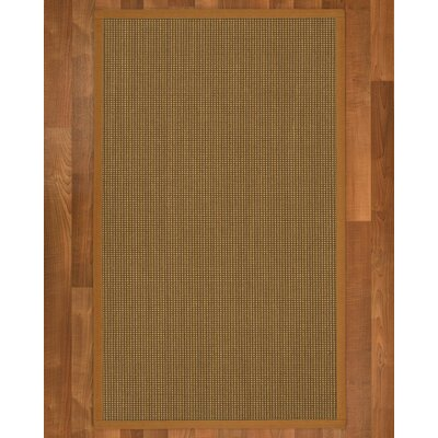 Asther Hand-Woven Brown Rug Rug Size: Rectangle 4 X 6
