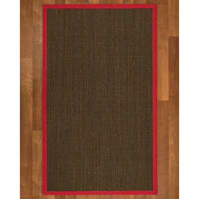 Hedlund Hand Woven Brown Area Rug Rug Size: Rectangle 12 x 15