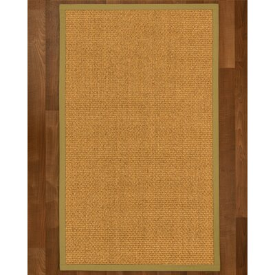 Andlau Hand Woven Brown Area Rug Rug Size: Runner 26 x 8