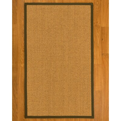 Andlau Hand-Woven Tan Area Rug Rug Size: Rectangle 6 X 9