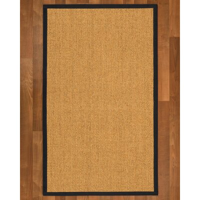 Healey Sisal Midnight Blue Area Rug Rug Size: 9 X 12