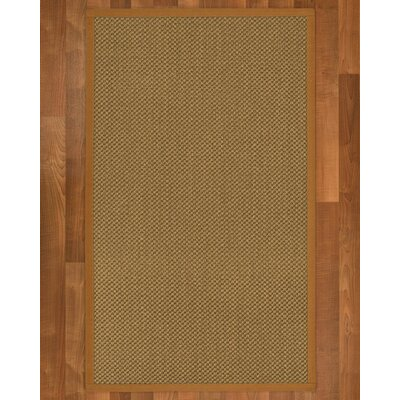 Loehr Hand Woven Brown Area Rug Rug Size: Rectangle 5 X 8