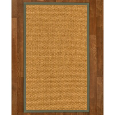 Andlau Hand Woven Brown Area Rug Rug Size: Rectangle 5 X 8