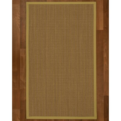 Asther Hand-Woven Brown Area Rug Rug Size: Rectangle 3 X 5