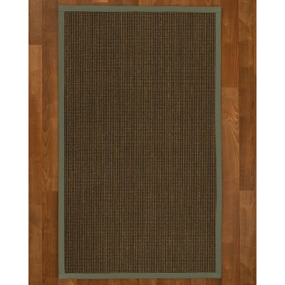 Hedlund Hand Woven Brown Area Rug Rug Size: Rectangle 2 X 3