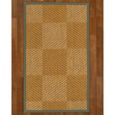 Adley Sisal Stone Area Rug Rug Size: Rectangle 6 X 9