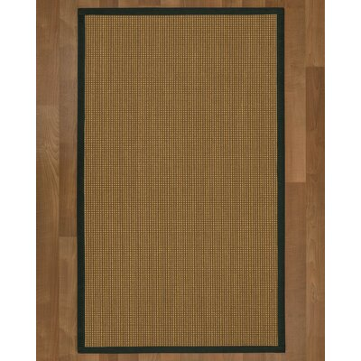 This Asther Hand Woven Brown Area Rug Rug Size: Rectangle 6 X 9