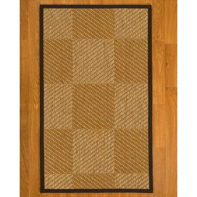 Adley Hand Woven Brown Area Rug Rug Size: Rectangle 4 X 6