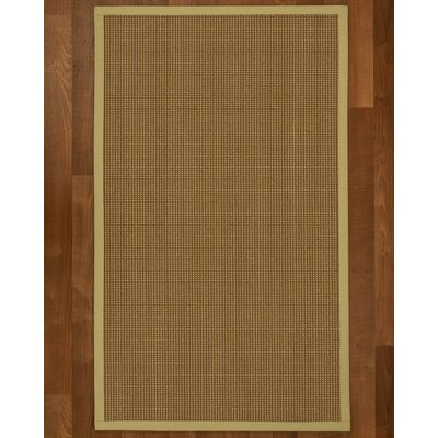 Asther Hand-Woven Beige Area Rug Rug Size: Rectangle 4 X 6