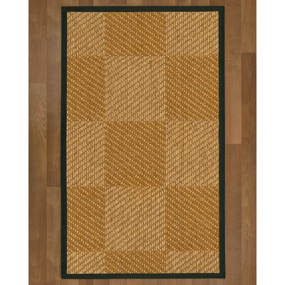 Adley Sisal Metal Area Rug Rug Size: 9 X 12