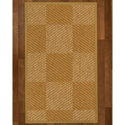 Adley Hand-Woven Beige Area Rug Rug Size: Rectangle 8 X 10
