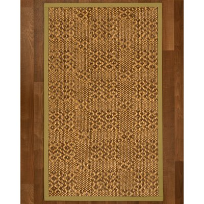 Camile Hand Woven Copper Area Rug Rug Size: Rectangle 2 X 3