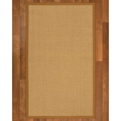 Lanie Hand-Woven Beige Area Rug Rug Size: Rectangle 5 X 8