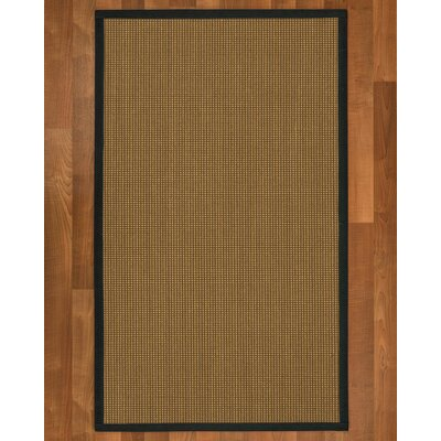 Asther Hand Woven Brown Area Rug Rug Size: Rectangle 4 X 6