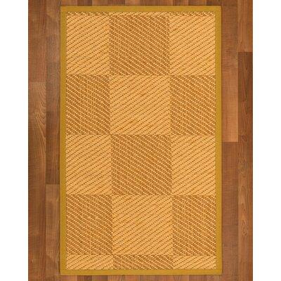 Luhrmann Sisal Tan Area Rug Rug Size: 4 X 6