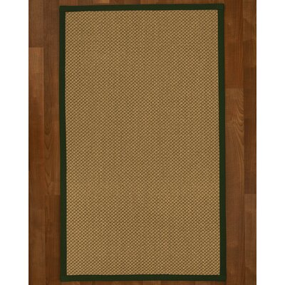 Loehr Hand Woven Brown Area Rug Rug Size: Rectangle 3 X 5