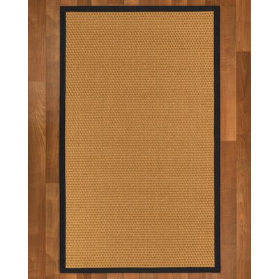 Shauntel Hand-Woven Tan Area Rug Rug Size: Rectangle 6 X 9