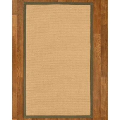 Rupendra Hand Woven Beige Area Rug Rug Size: Rectangle 4 X 6