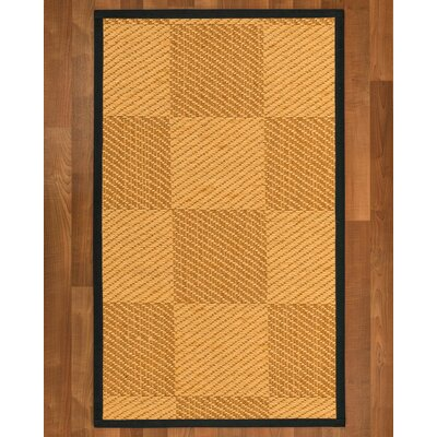 Luhrmann Sisal Onyx Area Rug Rug Size: 9 X 12