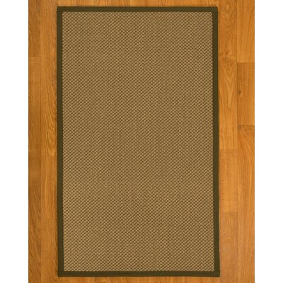 Loehr Hand Woven Brown Area Rug Rug Size: Rectangle 12 x 15