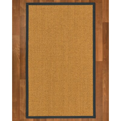Andlau Hand-Woven Tan Area Rug Rug Size: Rectangle 9 x 12