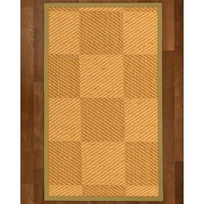 Luhrmann Sisal Khaki Area Rug Rug Size: 8 X 10