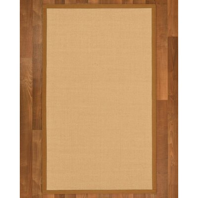 Rupendra Hand Woven Beige Area Rug Rug Size: Rectangle 5 X 8