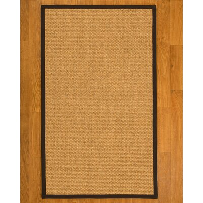 Healey Sisal Fudge Area Rug Rug Size: 3 X 5