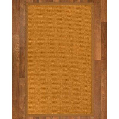 Bullen Sisal Sienna Area Rug Rug Size: 6' X 9'