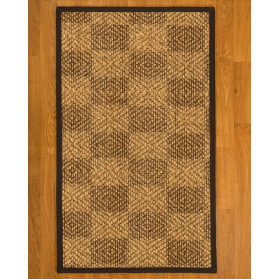 Hearne Sisal Fudge Area Rug Rug Size: 9 X 12