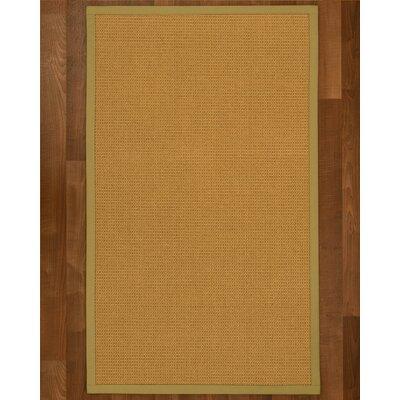 Coleridge Sisal Khaki Area Rug Rug Size: 4 X 6