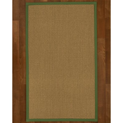 Loehr Hand Woven Beige Area Rug Rug Size: Rectangle 4 X 6