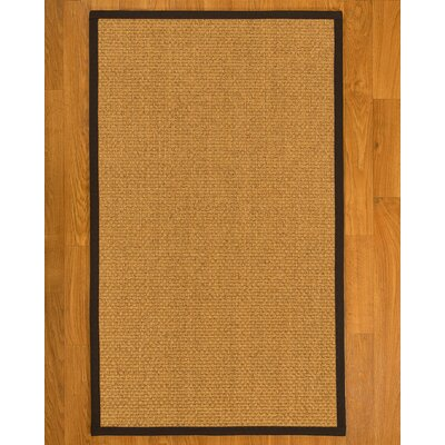 Andlau Hand Woven Brown Area Rug Rug Size: Rectangle 12 x 15